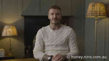 David Beckham supports Relief Run - 9Honey