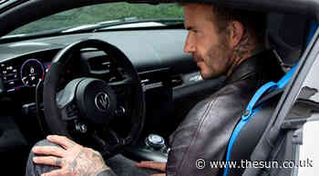 David Beckham signs deal with Maserati to promote their new £187,000 sports car... - The Sun