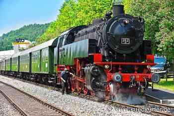 Blumberg: Sauschwänzlebahn unter Dampf - SÜDKURIER Online