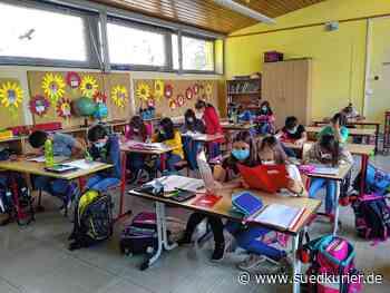 Blumberg: Schüler in den Grundschulen Riedöschingen, Riedöschingen und Fützen freuen sich über den Unterricht - SÜDKURIER Online