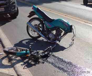 Acidente na BR-386 deixa caroneira de motocicleta ferida, em Lajeado - independente
