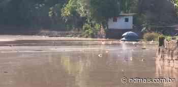 Após chuva, nível do Lajeado São José, em Chapecó, chega aos 90% nesta quarta-feira - ND Mais