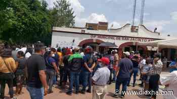 Acusan fraude electoral en San Jacinto Amilpas - Didxha Xquidxe