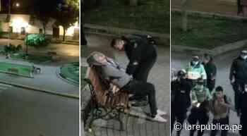 Cajamarca: captan robo a persona que se durmió en la vía pública - LaRepública.pe