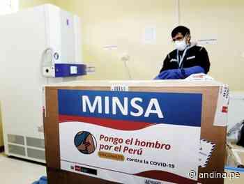Cajamarca recibe más de 96000 vacunas contra la covid-19 para mayores de 60 años - Agencia Andina
