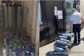 """Agenten treffen massa gasflessen aan in woning: """"Lachgas is georganiseerde criminele handel geworden"""""""
