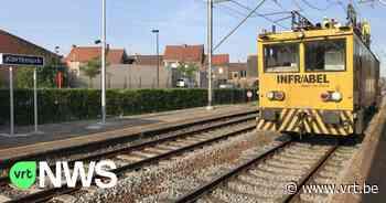 Er rijden weer treinen tussen Lichtervelde en Diksmuide - VRT NWS