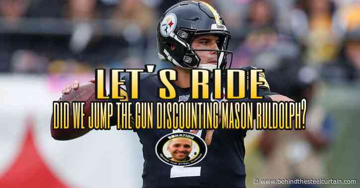 Podcast: Did we jump the gun as Mason Rudolph not being the next Steelers QB?