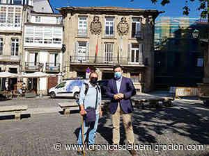 Miranda recibe al presidente de la Casa de Galicia en Huelva tras su peregrinación por el Camino Portugués por la Costa - Cronicas de la Emigracion