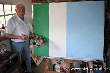 Wakkense kunstenaar ontwerpt vlag ter ere van zorgpersoneel