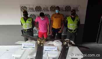 Capturaron a dos sujetos por robar ventiladores de un colegio en Bolívar - Caracol Radio