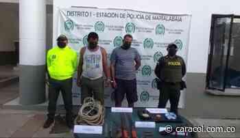 Capturaron a presuntos responsables de microtráfico en Arroyohondo, Bolívar - Caracol Radio