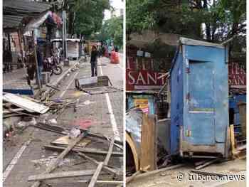 Después de 11 años inició el despeje del Paso Bolívar, reubicando a vendedores informales en Barranquilla_ - TuBarco