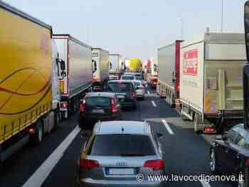 Autostrade: coda di 3 km sulla A26 tra Ovada e Masone, rallentamenti anche su A7 e A12 - LaVoceDiGenova.it