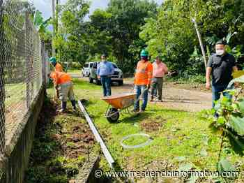 Avanza proyecto de aceras en San Isidro - Chiriquí - frecuenciainformativa.com