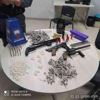 Homem é preso com armas e drogas em Viana, ES - G1