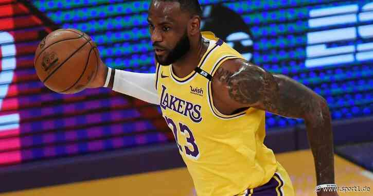 LeBron James: NBA-Superstar der Lakers erhält seine alte Trikotnummer - SPORT1
