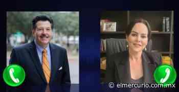 Carmen Lilia Cantu Rosas agradece la felicitación de Pete Saenz - El Mercurio de Tamaulipas