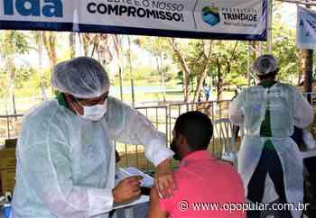 Trindade inicia vacinação de pessoas com 50 anos ou mais - O Popular