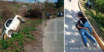 Caen tres asaltantes de cajero tras tenaz persecución en Santa Bárbara (Video) - La Tribuna.hn
