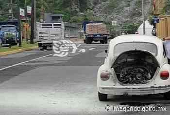 Conato de incendio de automóvil deja daños materiales en Orizaba - Imagen del Golfo
