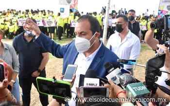 Gobernaremos con los ganadores: Cuauhtémoc Blanco - El Sol de Cuernavaca