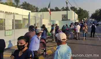 El viernes no habrá vacunación anticovid en la zona militar en Cuernavaca - Unión de Morelos