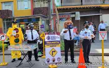 En marcha campaña de vialidad en Cuernavaca - El Sol de Cuernavaca