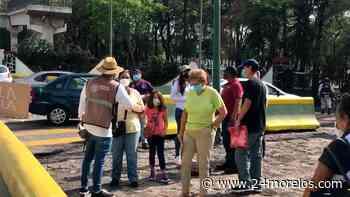 Vacunan a sector de la población que no estaba programado en Cuernavaca - 24 Morelos