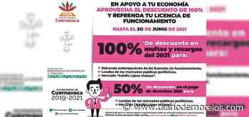 Ofrecen descuentos en licencias de funcionamiento en Cuernavaca - Diario de Morelos