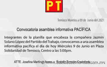 Elección en Temixco plasmada por irregularidades: Solano López - El Sol de Cuernavaca