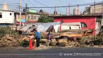 Varias afectaciones en Cuernavaca por las lluvias de anoche - 24 Morelos