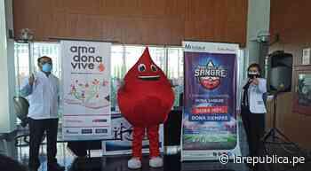 Moquegua: realizan campaña de donación de sangre este 14 de junio - LaRepública.pe