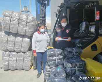 Moquegua: entregan ayuda a damnificados por incendio en localidad de Pampa Inalámbrica - Agencia Andina