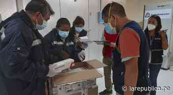 Lote de 12.200 dosis contra la COVID-19 arribó a Moquegua - LaRepública.pe