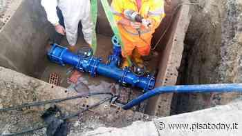 Calcinaia, interruzione programmata sulla rete idrica - PisaToday