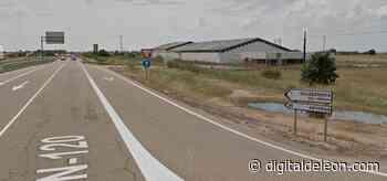 Importante corte de tráfico en Villadangos del Páramo - Digital de León
