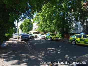 Woman 'found hanging' from scaffolding on Bromley street