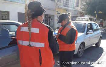 Controles sorpresivos por el Día de la Seguridad Vial en Caleta Olivia - La Opinión Austral
