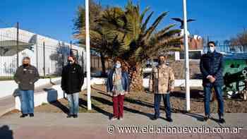Caleta Olivia: se conmemoró el Día de la Afirmación de los Derechos Argentinos sobre Malvinas - El Diario Nuevo Dia