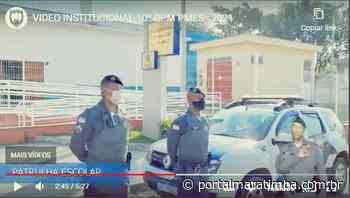 10º Batalhão de Guarapari comemora 20 anos e divulga vídeo que apresenta o policiamento na cidade - Portal Maratimba