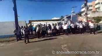 ES: Rodoviários fazem paralisação em Guarapari - A Nova Democracia