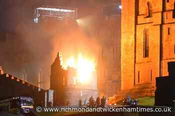 New Indiana Jones film lights up night sky at historic castle - Richmond and Twickenham Times