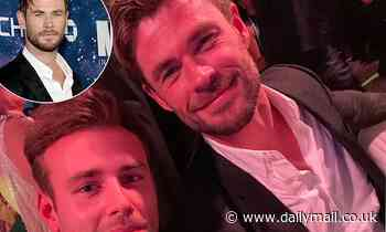 Chris Hemsworth skips the red carpet and slips into the Gold Dinner 2021 charity event in Sydney - Daily Mail