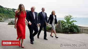 G7: Carrie Johnson prepares to entertain spouses in Cornwall