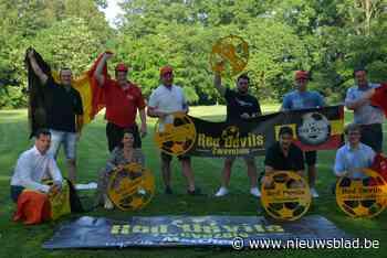 Olé, olé, olé! Kasteelpark wordt voetbaltempel voor supporters Rode Duivels
