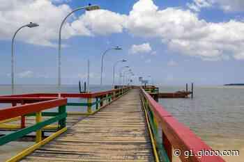 Ônibus de piquenique continuam proibidos na orla de Caripi, em Barcarena, no PA - G1