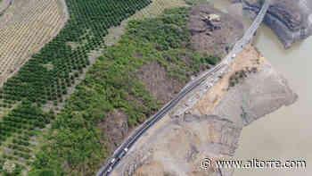 Este jueves reabrió circulación el tramo Santa Casilda al entronque a Cuatro Caminos - Altorre