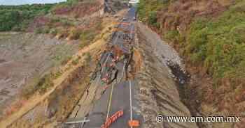 Michoacán Colapsa autopista Siglo 21 en tramo Santa Casilda-Cuatro Caminos - Periódico AM