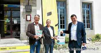Tour de France : à Landerneau, une collecte solidaire d'anciens téléphones - Le Télégramme